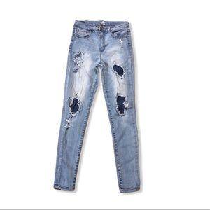 Garage Jeans - Distressed Skinny Jeans 0345